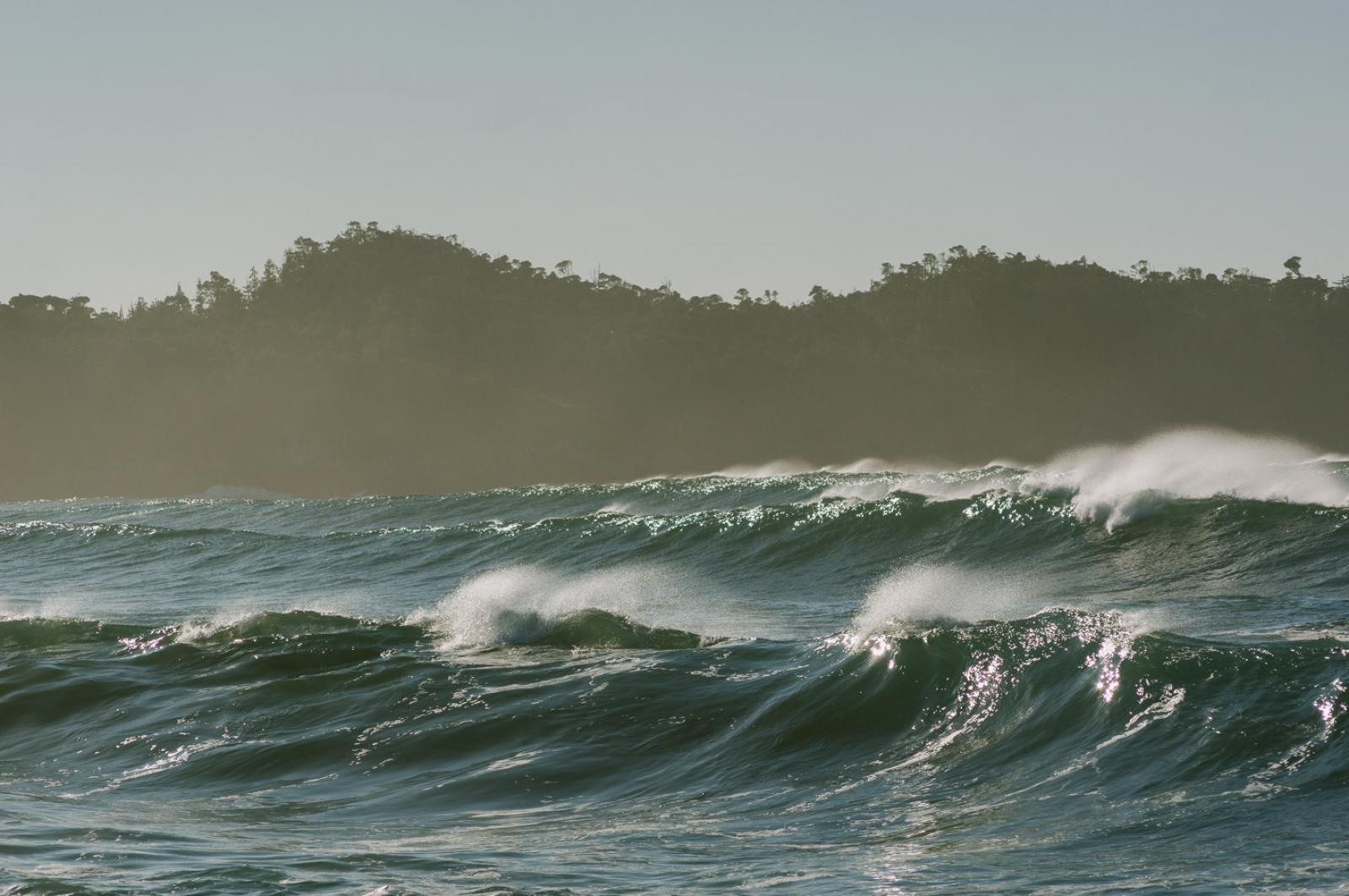 Waves Photo by Adrian Unger